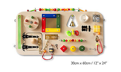 Educational Wooden Toy.Busy Board, Activity Board, Sensory Board.