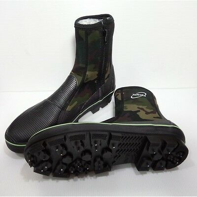 TANAKA Fishing Boots Shoes Anti-Skid Soles Nails Spikes Waterproof US Size 7-11