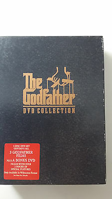 The Godfather DVD Collection (Part 1 to 3) 5 Disc R4 DVD Set