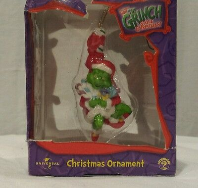 Universal Dr Seuss How the grinch stole christmas ornament 2000