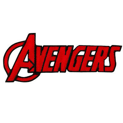 AVENGERS - Logo - Aufnäher Aufbügler Iron On Patch Applikation #9205 Marvel