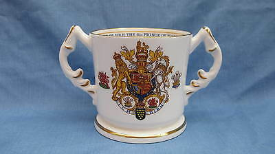 Aynsley Commemorative Loving Cup ~ Prince Of Wales & Lady Diana Spencer Marriage