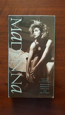 Madonna ‎– Madonna VHS US 38101-3 VG Rebel Heart Tour