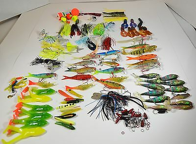 Fishing Lures Bait Assorted Mixed  Lot 90 Pcs
