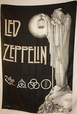 LED ZEPPELIN IV Stairway to Heaven Cloth Fabric Poster Flag Tapestry Banner-New!