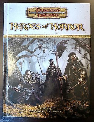 Heroes of Horror - 3.5 Dungeons & Dragons - NEW