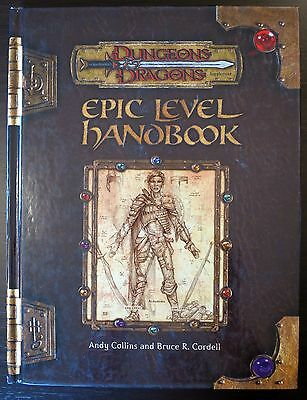 Epic Level Handbook - Dungeons & Dragons - Excellent condition
