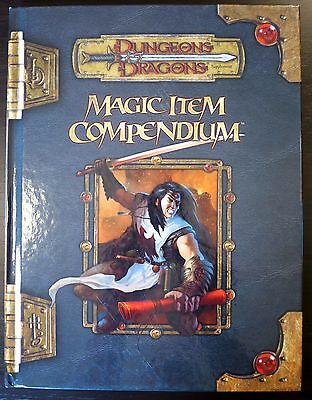 Magic Item Compendium - 3.5 Dungeons & Dragons - Excellent condition