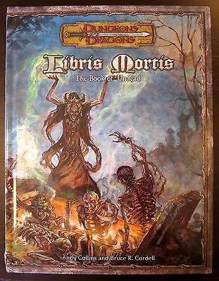Libris Mortis - 3.5 Dungeons & Dragons - Excellent condition