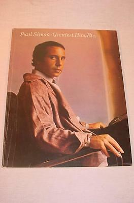 Vintage 1977 Song Book Paul Simon Greatest Hits, Etc Guitar Vocal Piano Bass