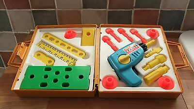 Vintage Fisher  Price Tool Kit, Complete, Vgc.