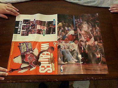 1989 Wheaties Cereal Michael Jordan Poster