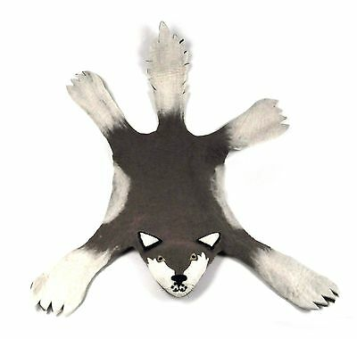 Felt Wolf Rug by Sew Heart Felt - SALE - Last Few EVER!