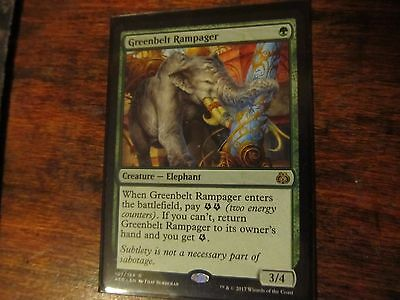 Greenbelt Rampager x4, Magic the gathering