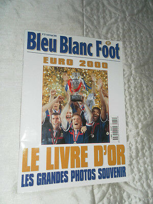 Bleu Blanc Foot - Euro 2000 France Tournament Souvenir