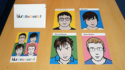 Blur - Best Of - Promo Postcards Pack