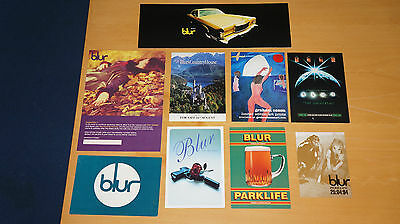 Blur - Collection of Promo Postcards (Girls and Boys Parklife