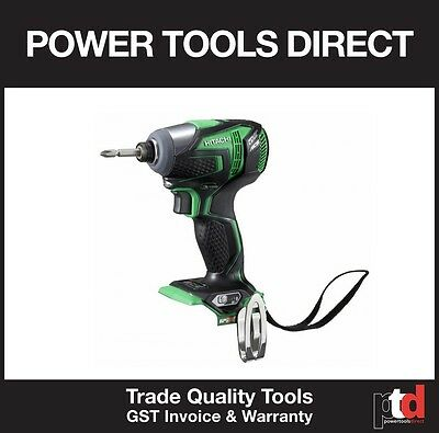 New Hitachi 18V Impact Driver Ip56 Cordless Brushless Wh18Ddl(H4) Bare Tool Only