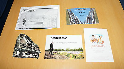 Grandaddy - Collection of Promo Postcards
