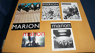 Marion - Collection of Promo Flyers