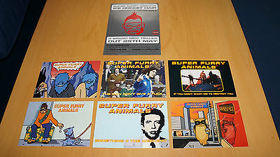 Super Furry Animals - Collection of Promo Postcards