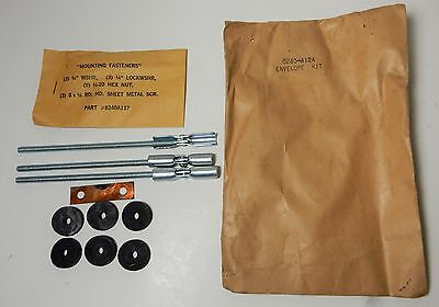 old NOS federal BEACON RAY WARNING emergency LIGHTS Roof MOUNTING KIT 8240A12A