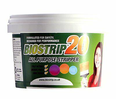 Biostrip 20 Paint Stripper 500ml, paint remover. Water based solution to remove