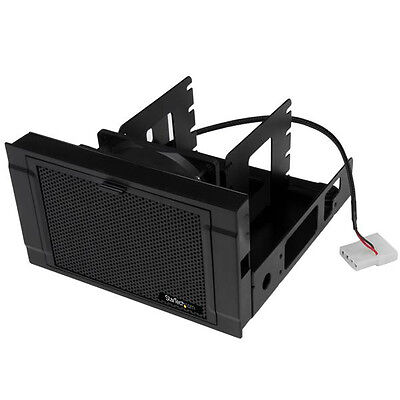 New StarTech SSD/HDD Mounting Bracket with Cooling Fan - Black
