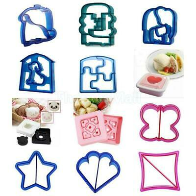 Love Heart Shaped Square Shapes Sandwich Maker Bread Mold Cutter Mould