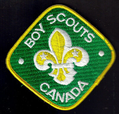 Boy Scouts Canada Large Embroidered Patch 3""