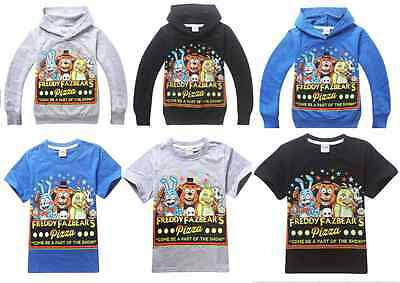 Boys Five Nights at Freddy's Sweatshirts | Five Night at Freddys Hoody Tops