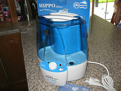 Hippo Deluxe Steam Vaporiser Vapouriser Humidifier – hardly used - as new cond