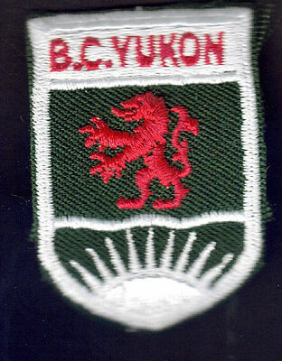 Boy Scouts Canada B.c. Yukon Region Embroidered Patch British Columbia