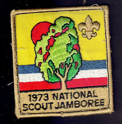Boy Scouts Canada 1973 National Scout Jamboree Embroidered Patch