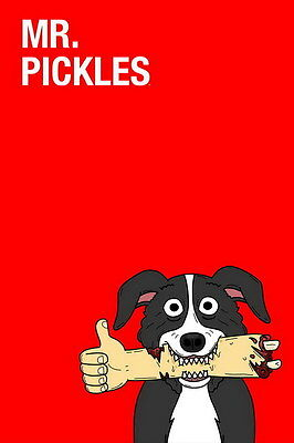 "6883 Hot Movie TV Shows - Mr Pickles 5 14""x21"" Poster"