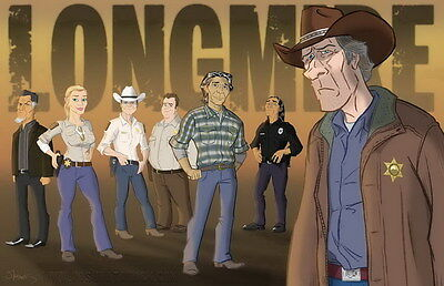"6740 Hot Movie TV Shows - Longmire 17 21""x14"" Poster"