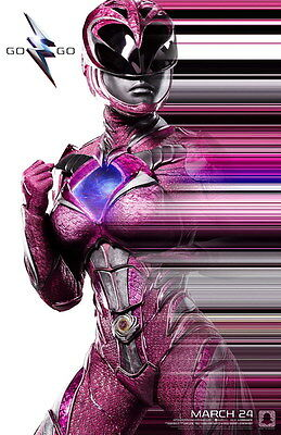 "7018 Hot Movie TV Shows - Power Rangers 2017 7 14""x21"" Poster"