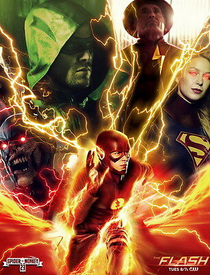 """7278 Hot Movie TV Shows - The Flash 27 14""""x18"""" Poster"""
