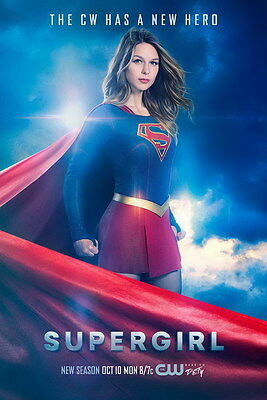 "7136 Hot Movie TV Shows - Supergirl 1 14""x20"" Poster"