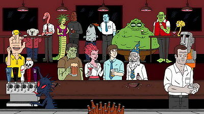 """7677 Hot Movie TV Shows - Ugly Americans 5 24""""x14"""" Poster"""