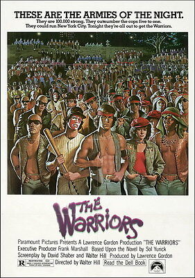 "7564 Hot Movie TV Shows - The Warriors 1979 14""x19"" Poster"