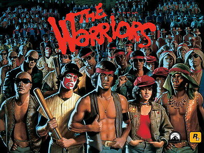 "7569 Hot Movie TV Shows - The Warriors 1979 13 18""x14"" Poster"