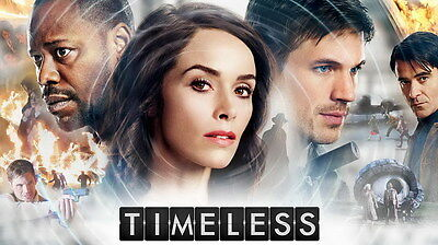 "7666 Hot Movie TV Shows - Timeless 2016 24""x14"" Poster"