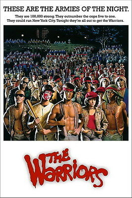 "7570 Hot Movie TV Shows - The Warriors 1979 14 14""x21"" Poster"