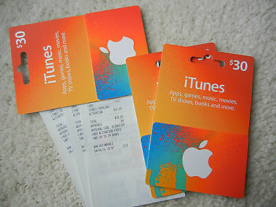 $30 iTunes Australia Gift Card for Music, Movies, Apps, Books  MELBOURNE DELIVER