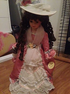Beautiful Porcelain Homeart Collectors Doll: Bethany SKU 5645