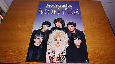 Blondie - The Hunter - 1982 USA Promo Poster