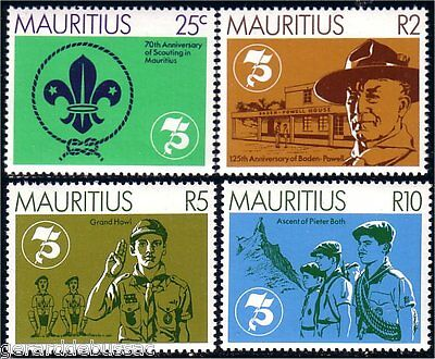 Mauritius Scouts Baden Powell  MNH ** (40)
