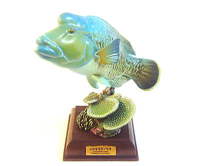 RARE Kaiyodo Aquarium Kitan Club Nature Techni Humphead Wrasse Figure