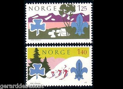 Norway Scouts Girl Guides  MNH ** (44)